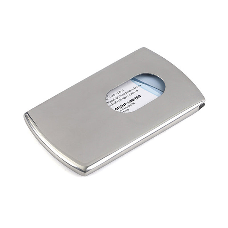 Stainless Steel Business Card Holder – George William Timepieces