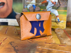 New York Yankees/Buffalo Head Snap Wallet