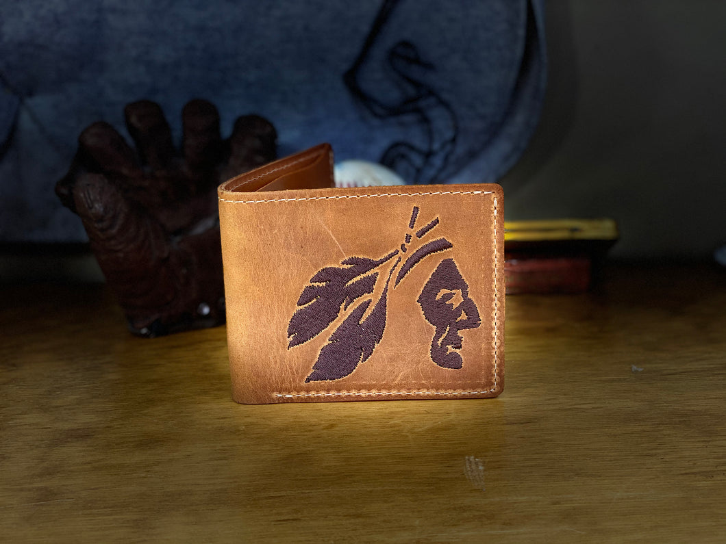 Nokona Stampede Wallet Natural