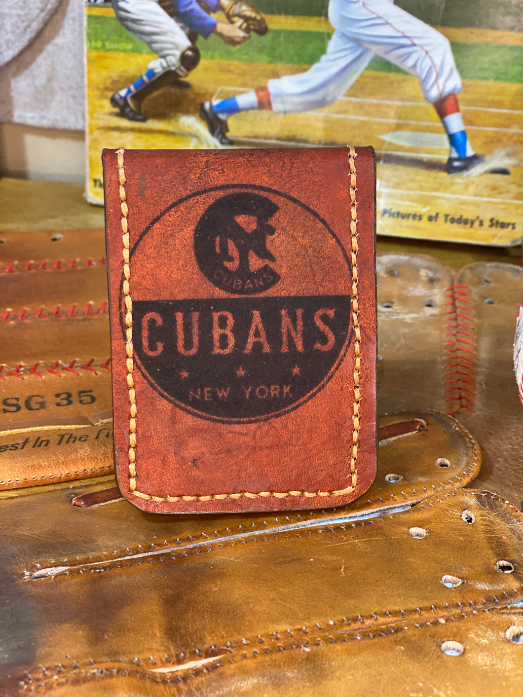 NY Cubans Negro League Vintage Wallet