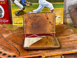 Joe Morgan Bi-Fold Card Wallet