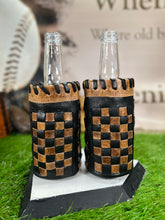 Viking Hand Carved Leather Art Billfold