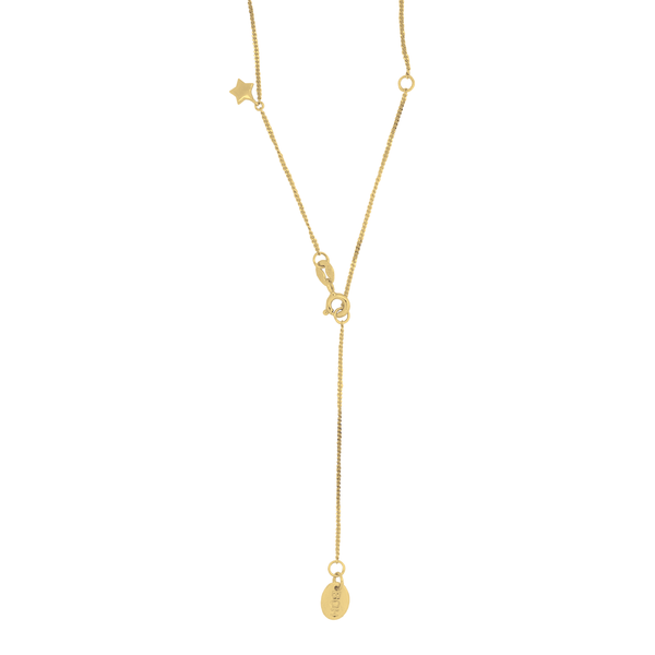Thank the Stars Necklace 9CT Yellow Gold