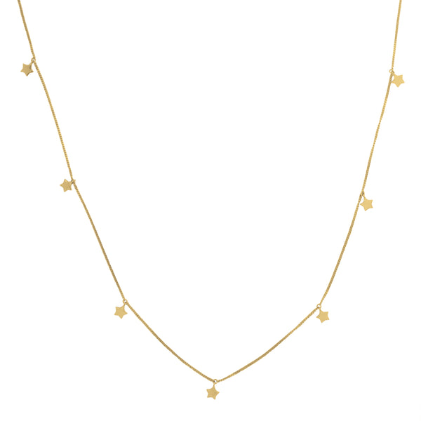 Thank the Stars Necklace 9CT Gold