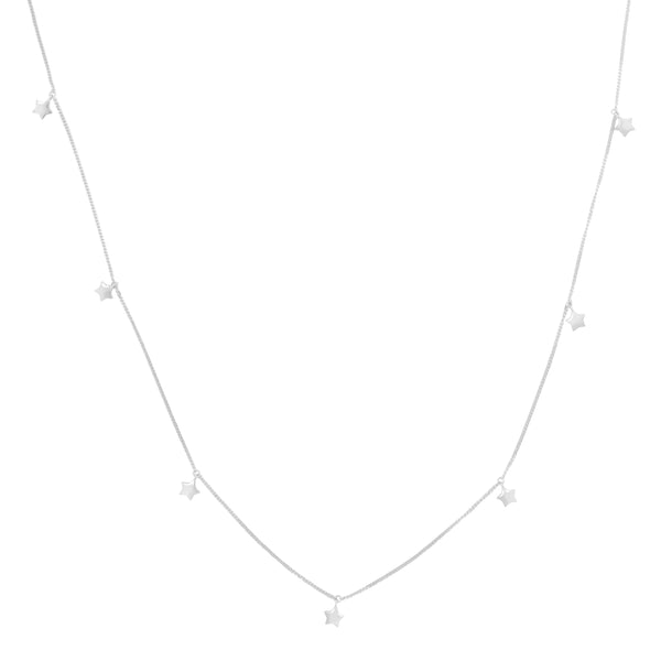 Thank the Stars Necklace Silver