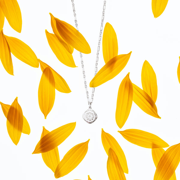 Marigold Pendant Sterling Silver