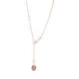 Triangle Pendant 9CT Rose Gold