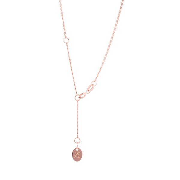 Square Pendant 9CT Rose Gold