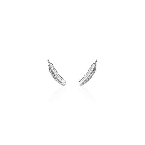 Boh Runga Miromiro Feather Studs