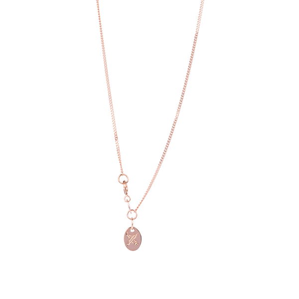 Arrow Petite Pendant 9CT Rose Gold