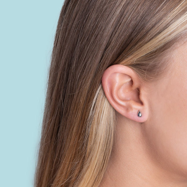 Boh Runga Jewellery Drop In The Ocean Studs Rose Gold