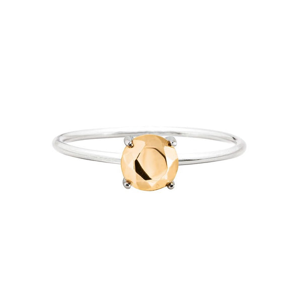 Boh Runnga Modern Classic Round Brilliant 9CT Gold Ring