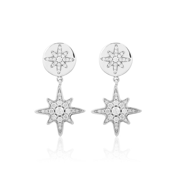 Boh Runga Jewellery Stellar Rose Earrings