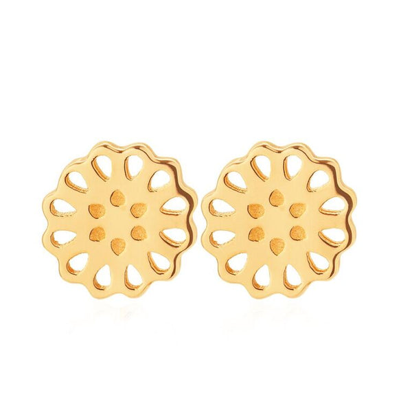 Boh Runga Jewellery Lotus Stud 9CT Gold