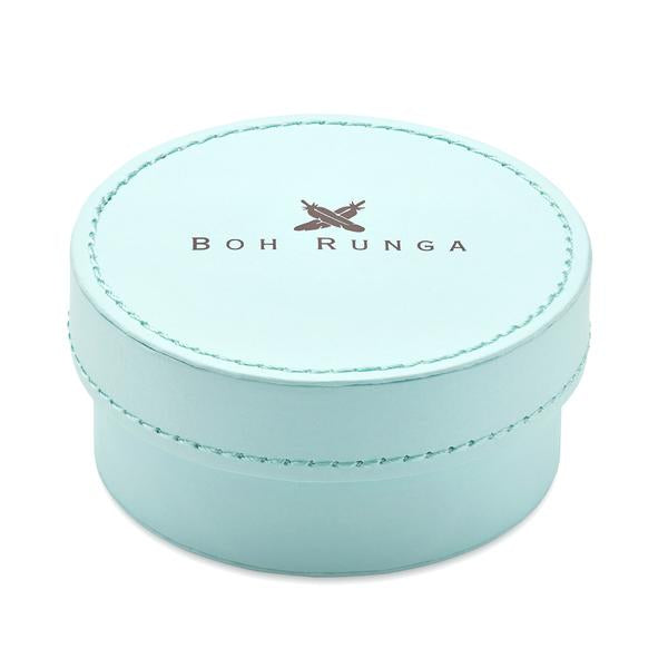 Boh Runga Jewellery Large Blue Round Box