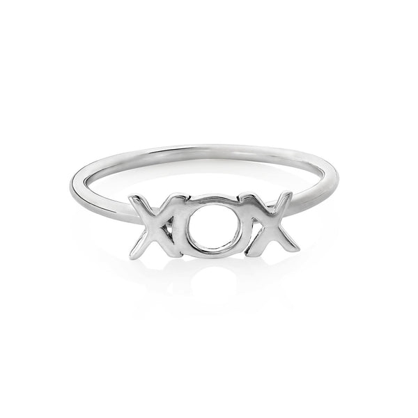 Boh Runga Hug and Kisses Ring Silver