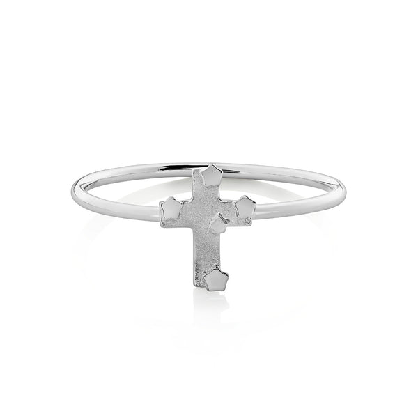 Boh Runga Souther Cross Ring Silver