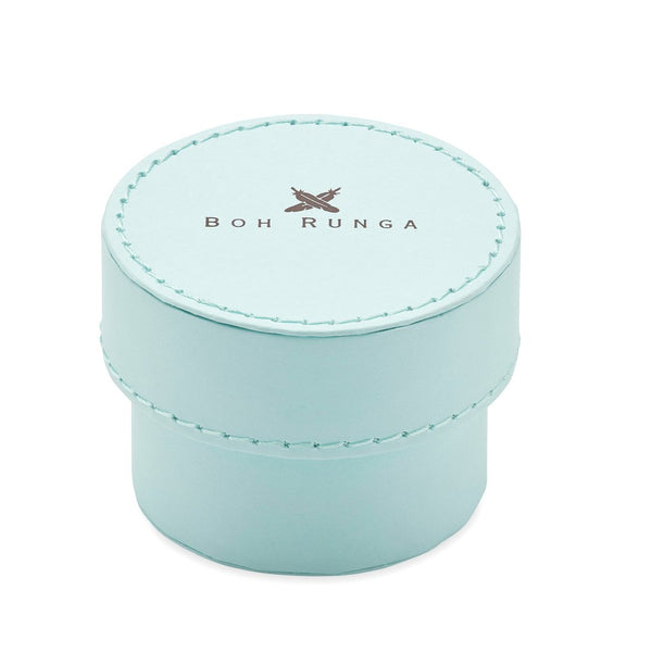 Boh Runga Jewellery Small Blue Round Box