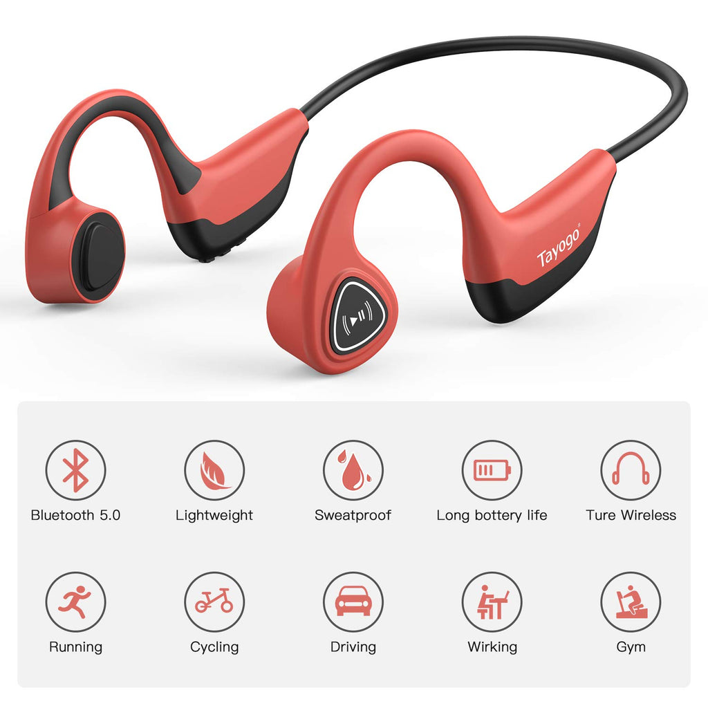 Bone Conduction Bluetooth Headphone For Sports S2 Tayogostore