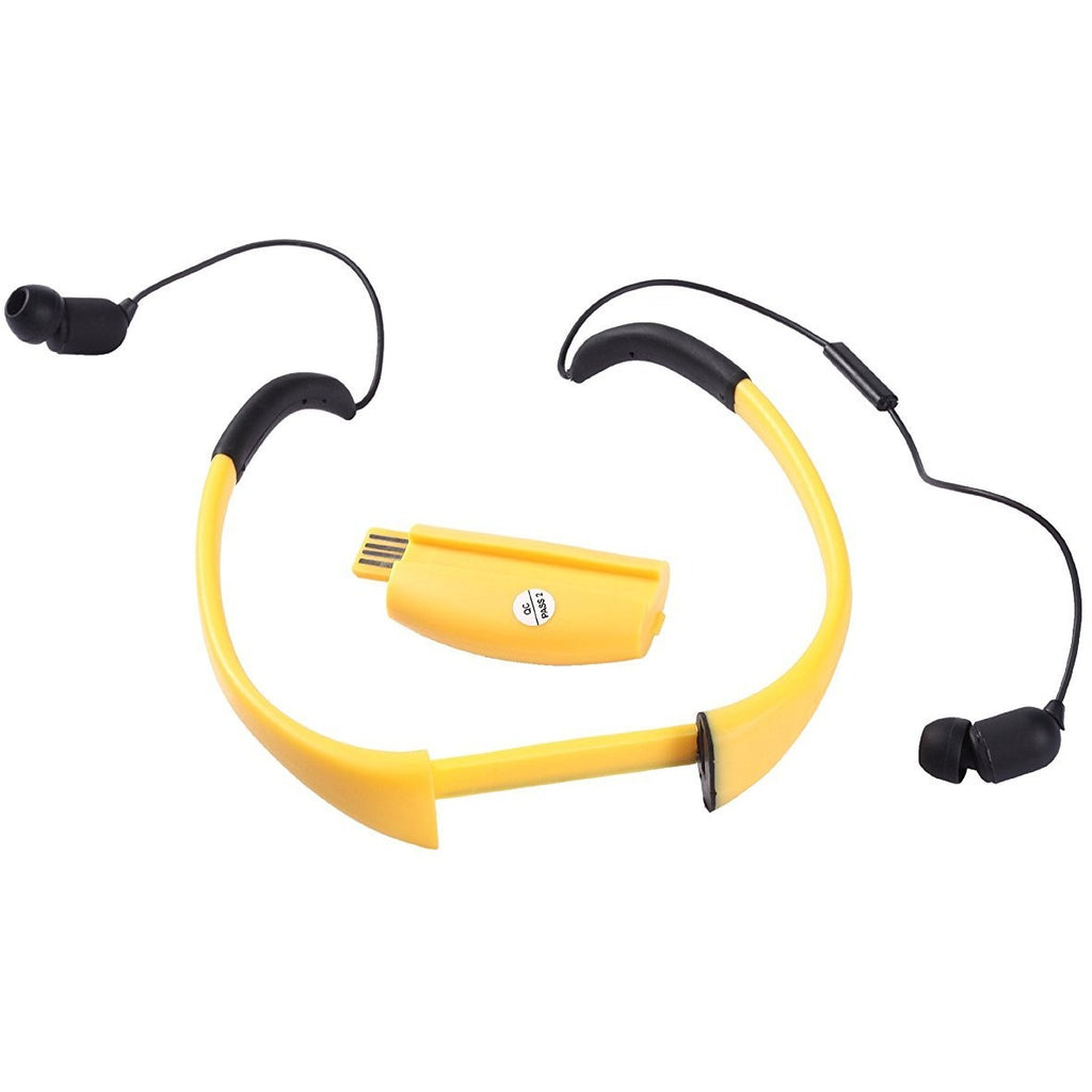 Tayogo Active Sport Bluetooth 2 In 1 Waterproof Anti Sweat Headset And Microphone