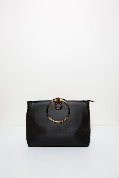 Bethany Black Clutch