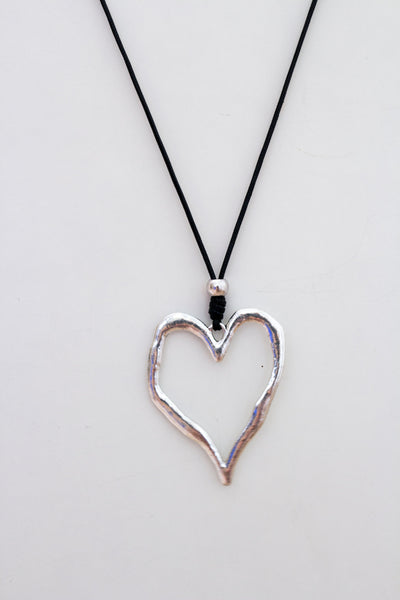 MB Heart Necklace