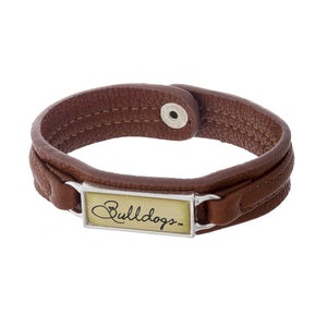 Bulldogs Brown Bracelet
