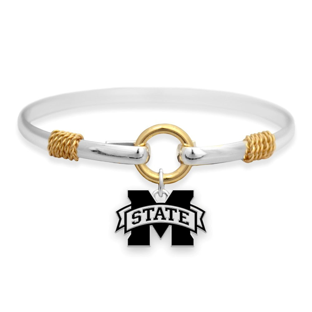 MS Logo Two Tone Bracelet
