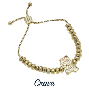 "MS Gold ""Crave"" Bracelet"