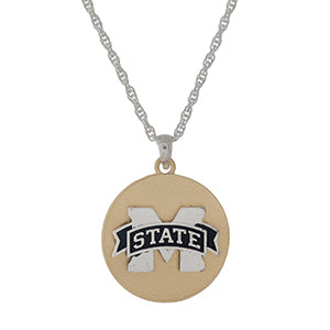 MS State Necklace