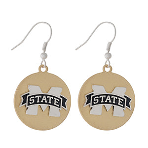 MS State Earrings