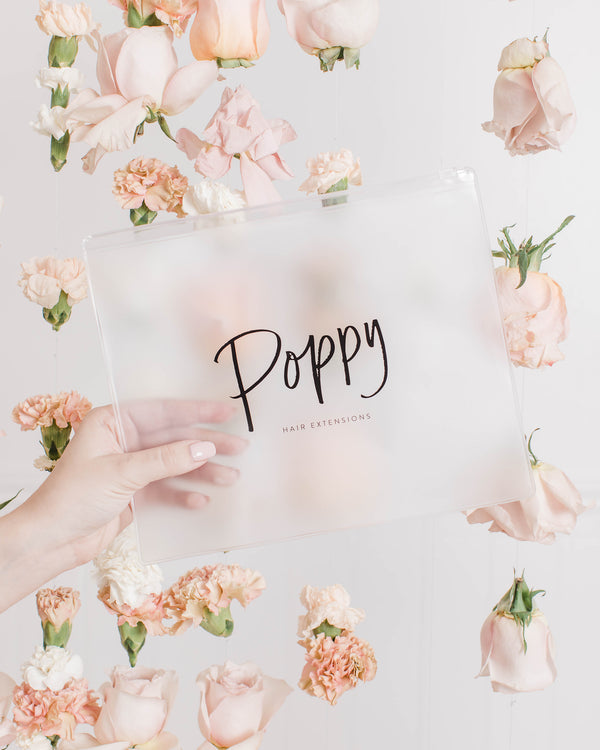 Poppy Zipper Pouch