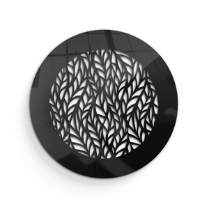 Barbara Round Vent Cover - Black Collection