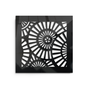 Waterwheel Vent Cover - Black Collection