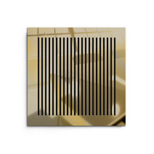 Katherine Vent Cover - Gold Mirror Collection - Aria Rectangular Vent Cover - Silver Mirror Collection