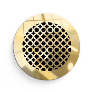 Ventian Round Vent Cover - Gold Mirror Collection