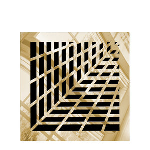 Vivian Vent Cover - Gold Mirror Collection