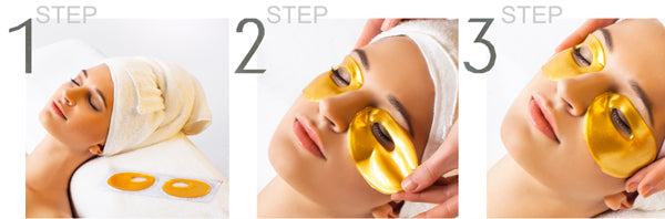 how to use neutriherbs eye circle mask