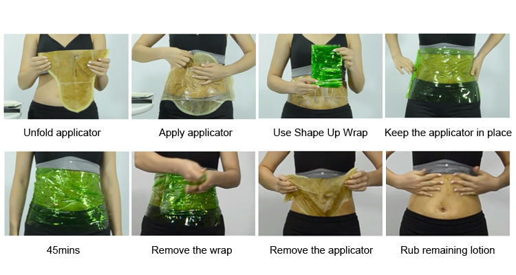 how to use neutriherbs body wrap