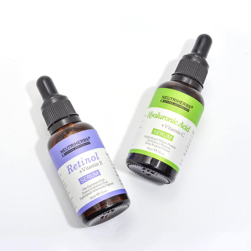hyaluronic acid face serum retinol serum neutriherbs