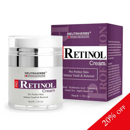 Neutriherbs® Rapid Wrinkle Repair Retinol Cream | 20% OFF