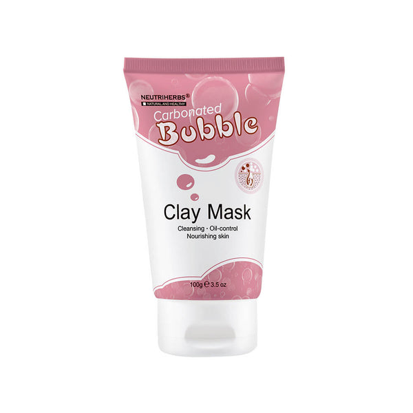 neutriherbs carbonated bubble clay mask-bubble face mask-carbonated face maskfoaming face mask