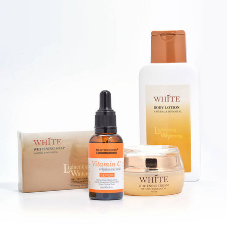 neutriherbs skin whitneing lightening brightening cream vitamin c serum whitneing soap body lotion