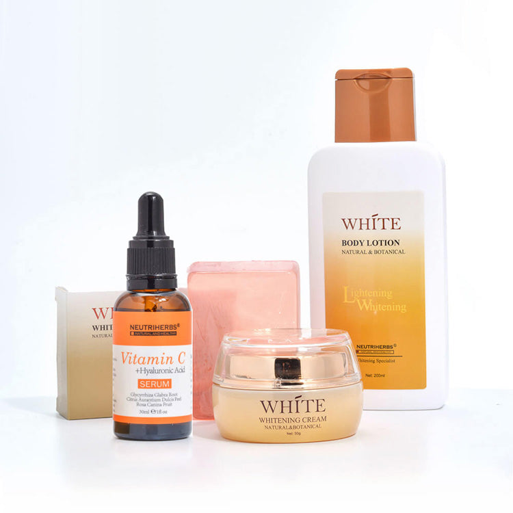 neutriherbs skin bleaching cream serum vitamin c 20 bleaching soap and lightening body lotion