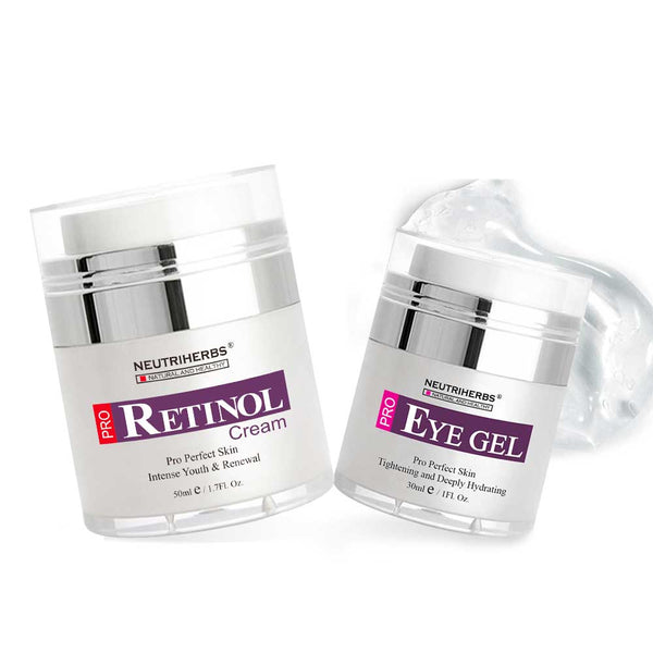 RETINOL CREAM EYE GEL FOR WRINKLES DARK CIRCLES
