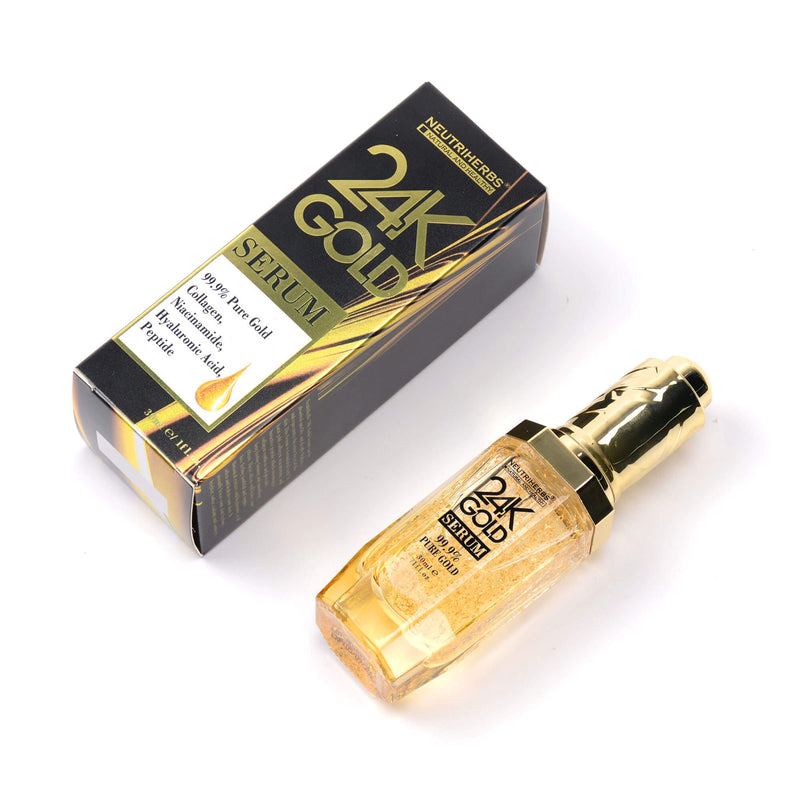 24 Karat Gold Serum For Dryness & Dullness & Uneven Texture