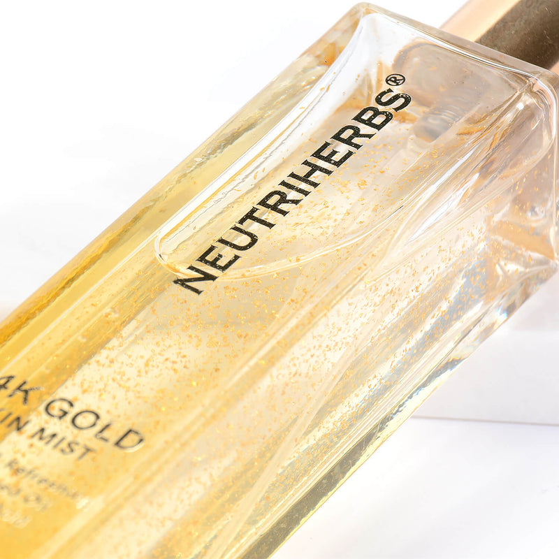 Neutriherbs 24k hydrating face spray for dry skin - 24k gold skin care products