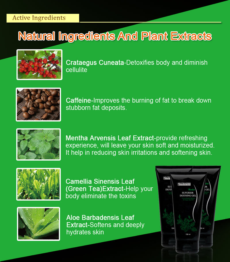 neutriherbs defining gel ingredients