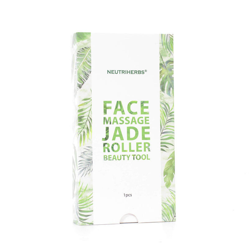 Neutriherbs Jade Roller for Face - Face & Neck Massager for Skin Care, Facial Roller to Press Serums, Cream and Oil Into Skin