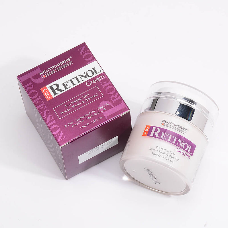 retinol cream for beginner-for acen -prone skin